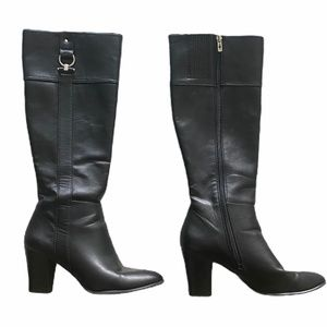ALFANI Black Dress Boots 7.5